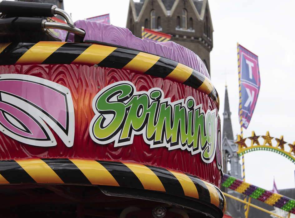 De Spinning Coaster in 2019